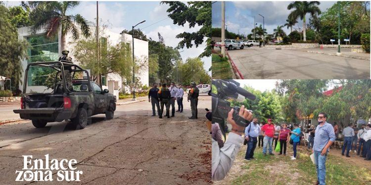 Evacuan «La Retama» por Amenaza de bomba