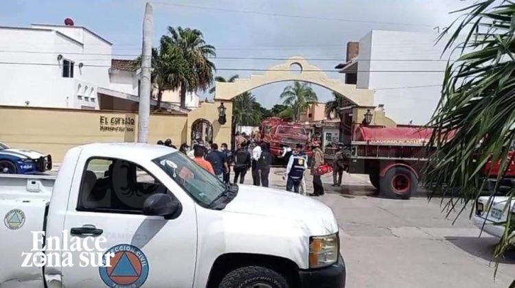 Explota cisterna de Gas en Condominio de Tampico: 1 muerto y dos lesionados.