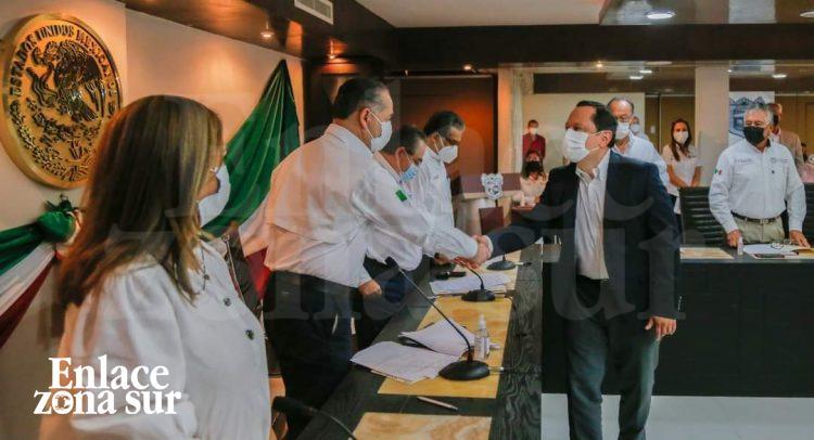 Madero «Directores municipales rinden protesta»
