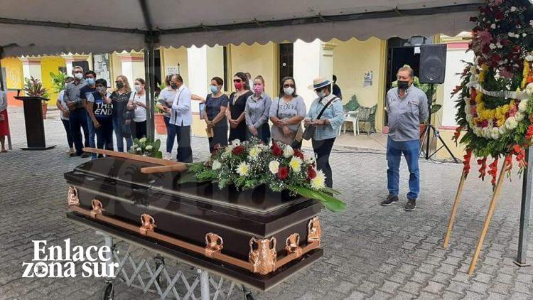 Rinden Homenaje al Ex Alcalde de Tampico Alto Roberto Robles; Falleció en Accidente Automovilístico