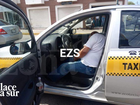 Taxista fallece de paro cardíaco