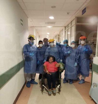 Mujer se salva del Covid-19 tras 33 días esquivando a la muerte